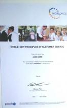 WorldHost certificate