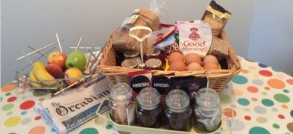 welcome breakfast hamper