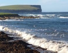 View From Garden Wall To Marwick