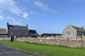 St Magnus Kirk and Old Manse