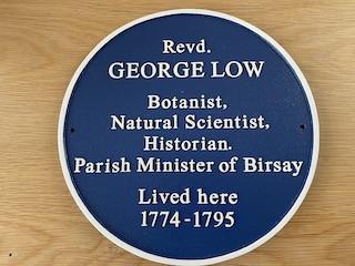 George Low Plaque