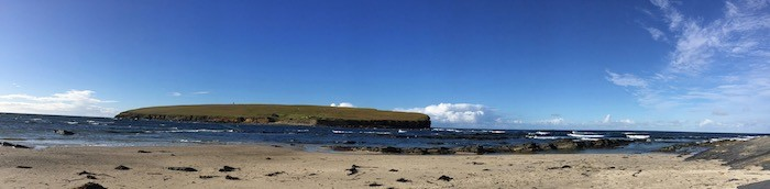 Brough of Birsay beach