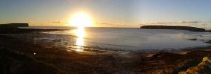 Evening view across Birsay Bay