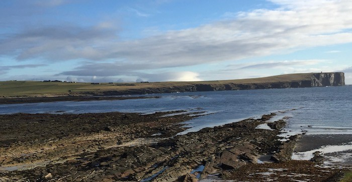 Marwick head Panorama