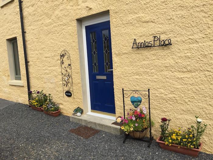 AP flowery entrance