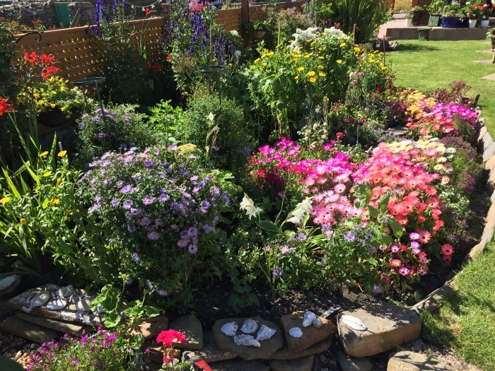 Annies Place garden August 2017