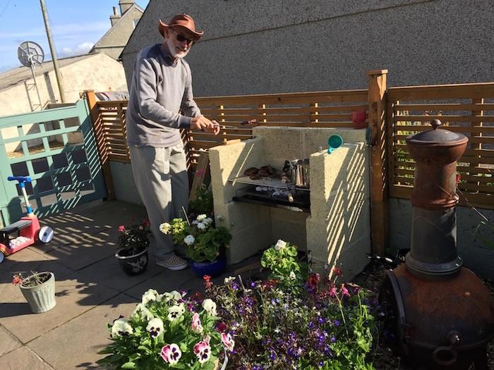 Garden new BBQ