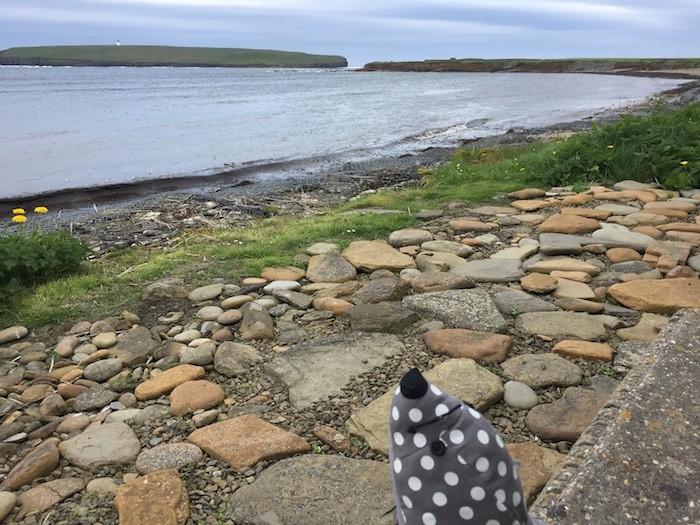 Shoreline bench