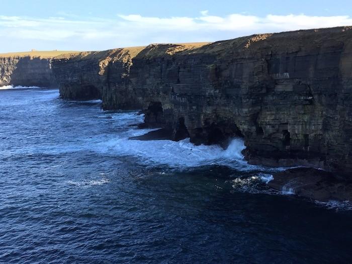 St Magnus Way Cave Cliffs